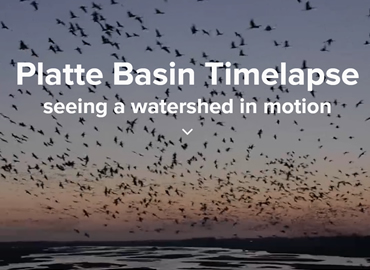 Platte Basin Timelapse: seeing a watershed in motion